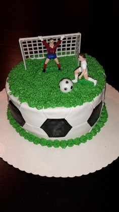 soccer football cake You are in the right place about argentina Soccer Cake Here we of Cupcakes, Cupcake Cookies, Football Pitch Cake, Football Cakes, Cakepops, Football Birthday Cake, Chocolate Hazelnut Cake, Soccer Cake, Cake Logo