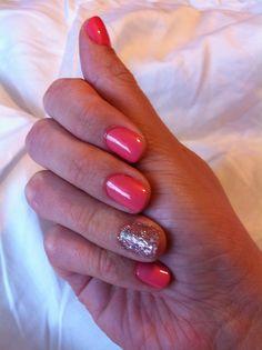 OPI pink nail polish!