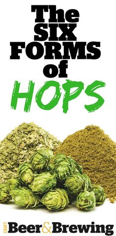 Nature gives us hops in only one form—the female cones of the climbing hops plant—but hops growers and processors deliver those hops to brewers in a range of products. Beer Brewing Kits, Brewing Recipes, Homebrew Recipes, Beer Recipes, Hops Plant, Beer Ingredients, Craft Beer Gifts, Brewing Supplies, Pale Ale Beers