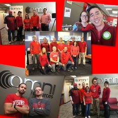 The team at Omni supporting the American Heart Association today.