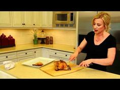 How to carve a chicken video tutorial