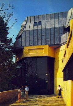 thechemistryset:  Wadham College extension, University of Oxford, 1978