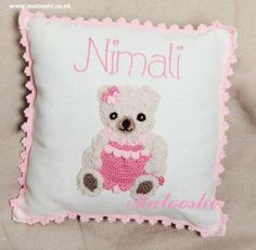 Soft and ready to cuddle Teddy Bear Girl. Great gift for new baby girls.