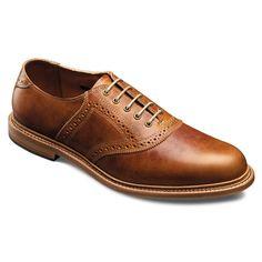 5fb53207b95 Finch - Plain-toe Saddle Lace-up Mens Dress Shoes by Allen Edmonds Swag