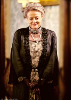 Downton Abbey - The Dowager. Steals it every time. Not because she has to but just because she can.  <3 Maggie Smith. There is nothing to not love about her.