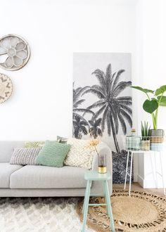 DIY: Maak je eigen behang paneel Make your own panel with wallpaper | KARWEI 1- 2018