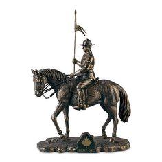 Honoured To Serve Sculpture Bronze Sculpture, Lion Sculpture, Police Life, Canadian History, It Cast, Canada, Cold, Horses, Statue