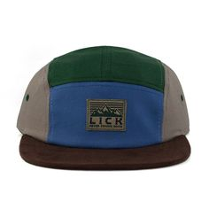 Peak Camp Cap (Forest/Olive) - Long Island City Kleaners