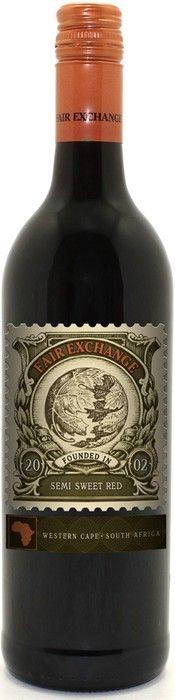 """Buy wine """"Fair Exchange"""" Red Semi Sweet, 2014, 0.75 L – price, reviews"""