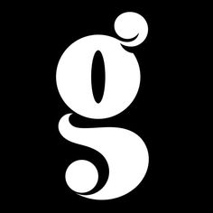 """Smooth """"g"""". Exploring letterforms with clean curves. #type #customtype…"""