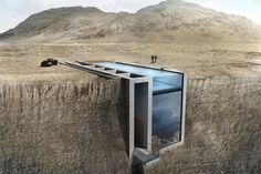 Casa Brutale Cliffside Concept by OPA 1