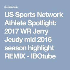 US Sports Network Athlete Spotlight: 2017 WR Jerry Jeudy mid 2016 season highlight REMIX - IBOtube