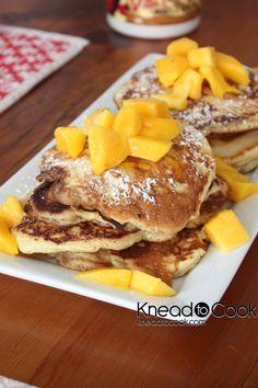 Mango and Banana Pancakes | Recipe | Mango, Pancakes and Banana ...
