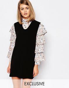 Imagen 1 de Vestido estilo pichi con camisa con estampado tarot Dream States de Sister Jane