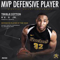 Junior Tekele Cotton was named Defensive MVP.