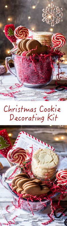 Christmas Cookie Decorating Kit | halfbakedharvest.com @hbharvest