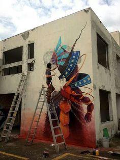 Painting, street art.
