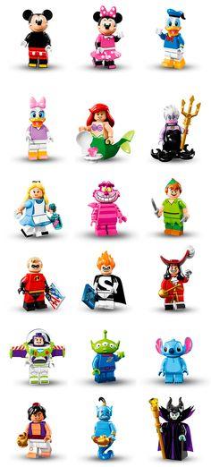 QUERO! Lego lança linha de peças com personagens da Disney