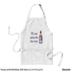 Funny 50th Birthday Gift Ideas Adult Apron