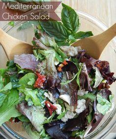 Mediterranean Chicken Salad Recipe = Delicious!