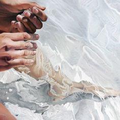 Detalle, ''Un fragmento de piel acariciada, besada, recorrida...'' (Josep Moncada)