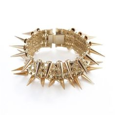 Red Hot Chili Peppers Spikes and Pyramids Polki Bracelet L. collaboration with nOir brings you this really cool and chic bracelet. Bracelet is made of solid Noir Jewelry, Fashion Jewelry, Spike Bracelet, All That Glitters, Style Icons, Jewelry Bracelets, Jewlery, Lamb, Jewelry Design