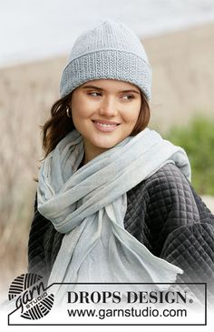 Fisher's Friend - Knitted hat with texture in DROPS Nepal. Drops Design, Knitting Patterns Free, Free Knitting, Fisher, Magazine Drops, Vogue, Milano Fashion Week, Crochet Diagram, Work Tops