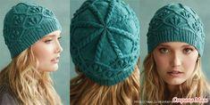 . Бесшовная вязаная шапочка от дизайнера Audrey Knight. Опрос на Он-лайн