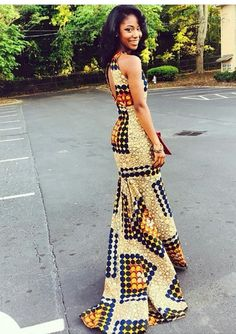 Top Ten Stunning Ankara Styles For Wedding Guests Dabonke African Attire, African Wear, African Women, African Dress, African Style, African Print Fashion, Fashion Prints, African Prints, Men's Fashion