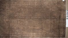 Overdyed Vintage Hand Woven Turkish Rug  6.16 by ArtcoreIstanbul, $1099.00