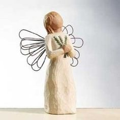 Willow Tree figurine - Angel of Remembrance