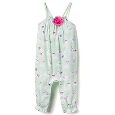 a6c80d8565 Baby Girl Sweet Mint Llama Llama 1-Piece by Gymboree Girl Outfits