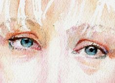 Watercolor portrait tutorial by Jane Duke