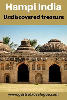 #Hampi #India an #archaelogical dream - #UNESCO - www.gastrotravelogue.com