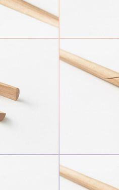 Chopsticks Get A Makeover - this is a wonderful design, both aesthetically and functionally