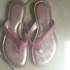 B.o.c girls sandals B.O.C Butterfly sparkle young girls sandals brand new never been worn b.o.c. Shoes Sandals