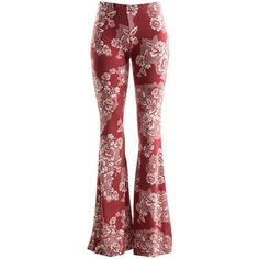 Fashionomics Womens BOHO COMFY STRETCHY BELL BOTTOM FLARE PANTS ($1,999) ❤ liked on Polyvore featuring pants, stretch pants, flared pants, flare trousers, wide-leg trousers and wide-leg pants