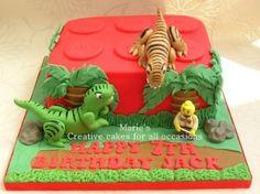 Lego Jurassic World Cake Images : 1000+ ideas about Lego Dinosaur on Pinterest Lego, Lego ...