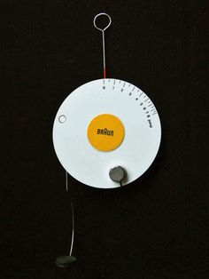 Braun scales by Dieter Rams #industrial #product #design
