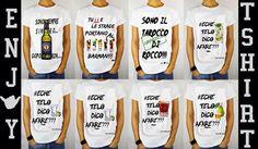 #EnjoyTshirt #echetelodicoafare #mojito #negroni #tequila #tshirt #moda