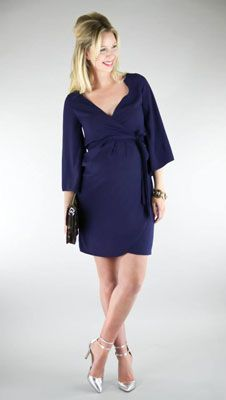 Gorgeous dress for shower, night out or anytime you just need to look fabulous! New at The Swanky Stork, Birmingham, AL Stylish Maternity, Maternity Fashion, Maternity Style, Pregnancy Wardrobe, Bump Style, Effortless Chic, Perfect Wardrobe, Mode Inspiration, Wrap Dress