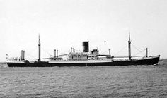RADNORSHIRE built in '48 by Caledon Shipbuilding & Eng.Co. tonnage 7632grt, length 487ft,  beam 62ft & service speed of 15.5 knots. A Mark A1 Class she was delivered to Blue Funnel in '47 as the Achilles & 04/49 was transferred to Glen Line and renamed Radnorshire . Returned to Blue Funnel in 12/62 & renamed Asphalion ,in 01/66 was transferred to the Dutch subsidiary N.S.M 'Oceaan'. 11/72 returned to Blue Funnel as the Asphalion until 10/75 was sold to Gulf (Shipowners) Ltd . Scrapped in…