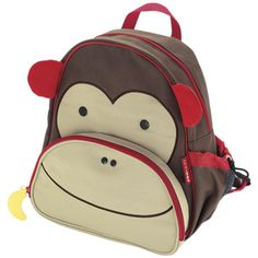 SkipHop Zoo Back Pack - Monkey Toddler Outfits 8922921d4f942