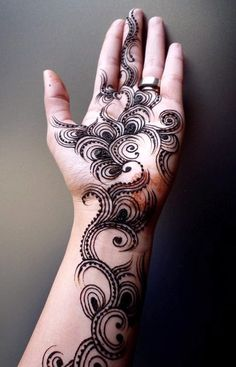Black | 黒 | Kuro | Nero | Noir | Preto | Ebony | Sable | Onyx | Charcoal | Obsidian | Jet | Raven | Color | Texture | Pattern | Styling | Mehandi | Design | Henna | Swirls | Abstract
