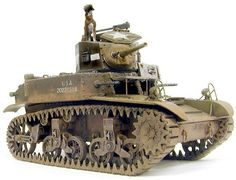 M3 Stuart Honey by Valentin E. Bueno (Academy 1/35)