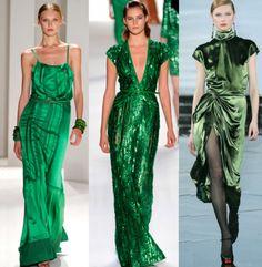 O verde esmeralda é considerado a cor de 2013.