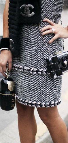 Chanel Street style | LBV ♥✤