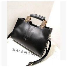 Bolsa Feminina 2017 Women Iron Crown Women Handbags Shield High Quality Woman Leather Women Clutch Handbag Messenger Bags bolsos