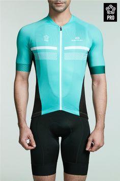 green short sleeve road bike jerseys