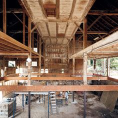 Cool tips for barn renovations